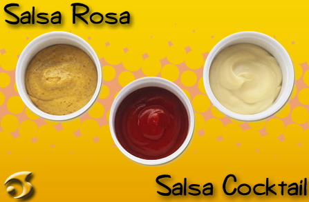 Salsa Rosa o Salsa Cocktail