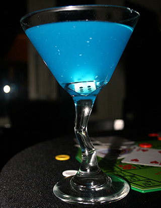 Cocktail Martini Blue