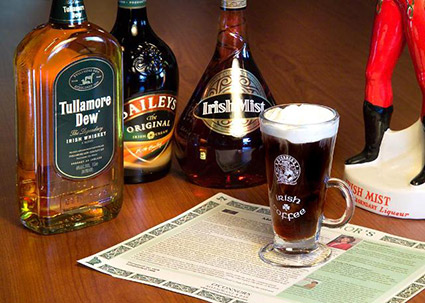 Irish Coffee con Whisky
