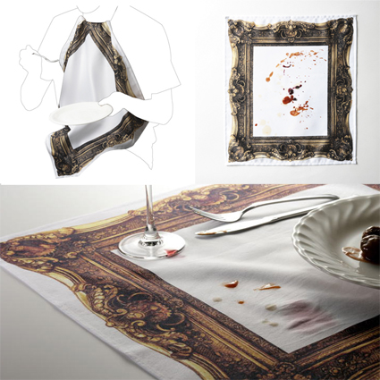 Frame Napkin by Kyouei Design