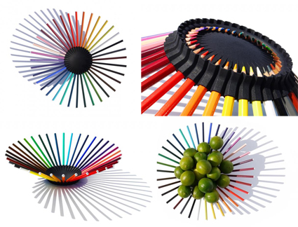 36 Pencil Bowl by Michiel Cornelissen