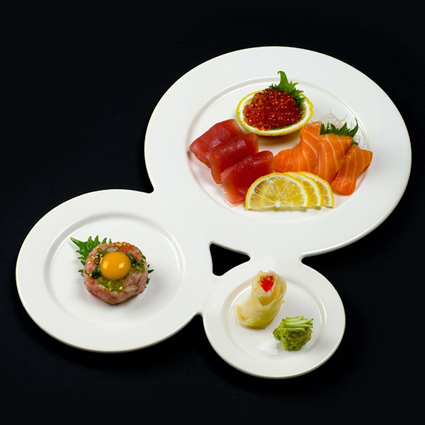Gourmet Trio Plate by Jean Marc Gady