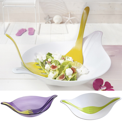 salad-bowl-&-servers-leaf-in-vendita-su-design3000